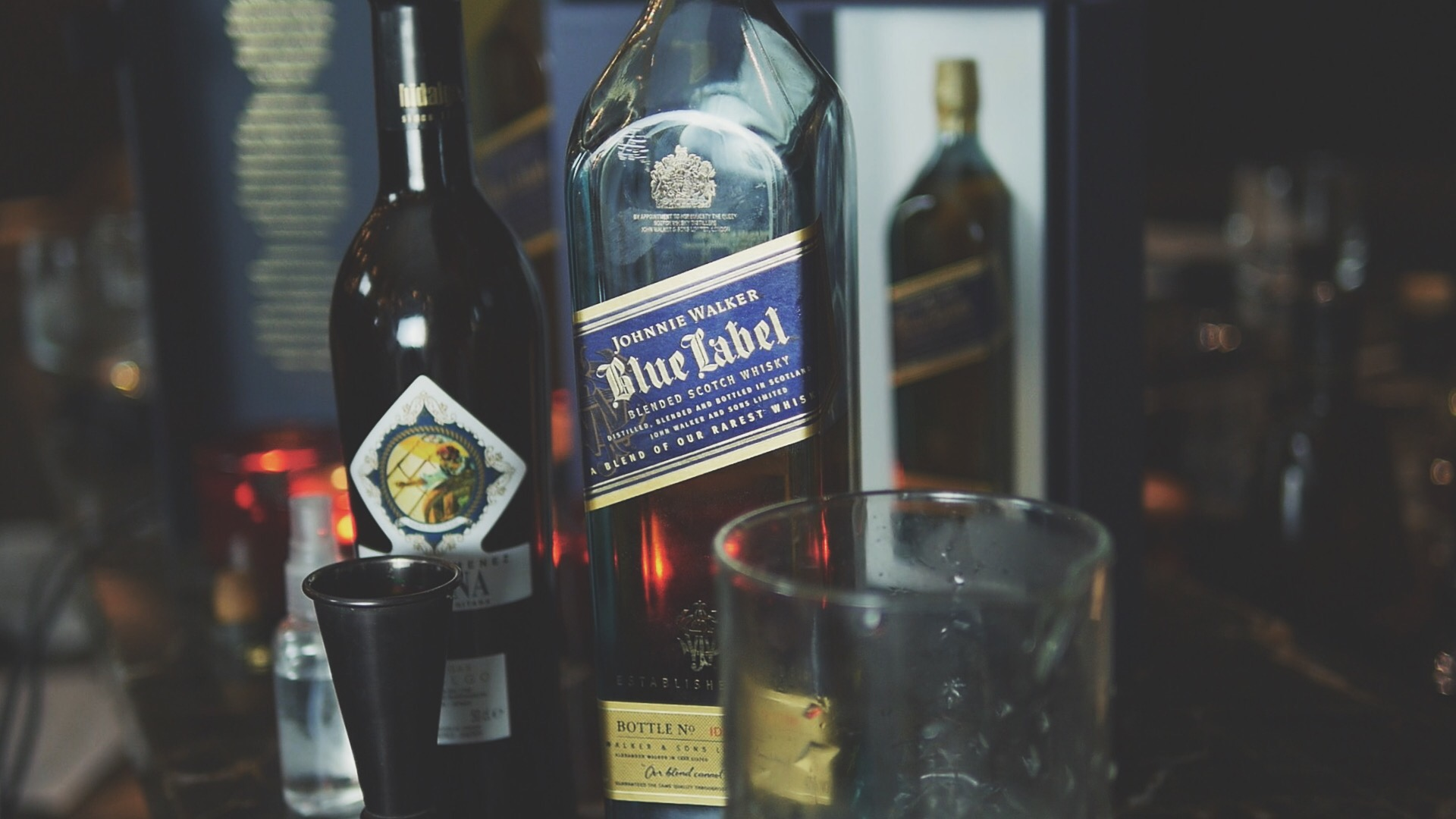 The Blue Rose Johnnie Walker Blue Label Ingredients